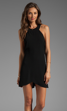 Cameo Far Too Late Dress in Black