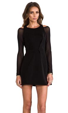 Cameo Fire We Make Long Sleeve Dress in Black