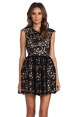 Cameo All My Days Dress in Black