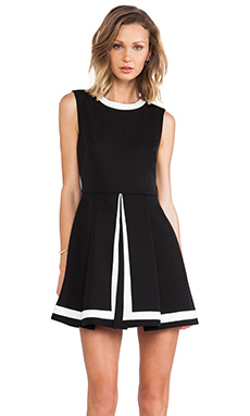 Cameo Graceless Dress in Black & White