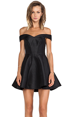 Cameo Your Song Dress in Black