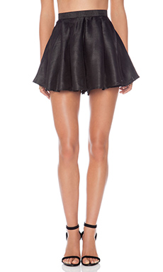 Cameo Help Me Shorts in Black