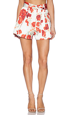 C/MEO Clique Short in Red Blossom