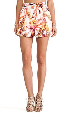 Cameo Hybrid Short in Tropic Print