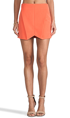 Cameo Everybody Talks Skirt in Tangerine