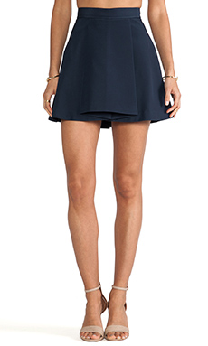 Cameo Gerome Skirt in Deep Navy