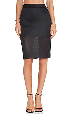 Cameo Acoustic Skirt in Black
