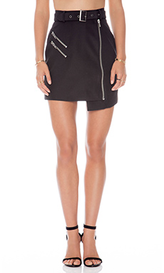 Cameo Nine Lives Skirt in Black