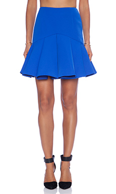 C/MEO Why Ask Skirt in Cobalt Blue