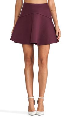 Cameo Sapphire Skirt in Wine