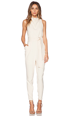 Cameo Chicago Pantsuit in Shell