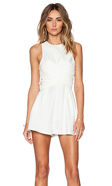 Cameo Trails Romper in Ivory