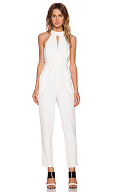 Cameo Breaking Hearts Jumpsuit in Ivory