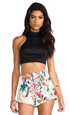 Cameo Another Heart Top in Black