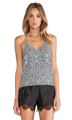 Cameo Broken Strings Tank in Snow Leopard