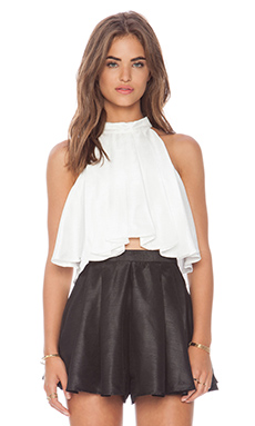 Cameo Help Me Top in Ivory