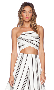 Cameo Night Tale Top in Stripe