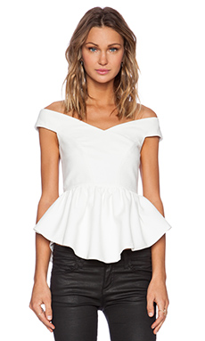 Cameo It's Time Top in Ivory
