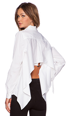Cameo Hang Loose Shirt in White