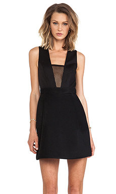 camilla and marc Hyper Link Dress in Black
