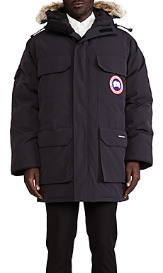 Canada Goose Expedition Parka in Navy