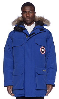 Canada Goose Expedition Parka in Pacific Blue