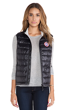 Canada Goose Hybridge Lite Vest in Black