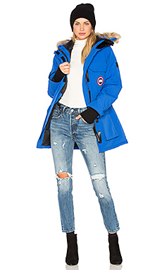 Canada Goose Polar Bear International Expedition Parka in PBI Blue