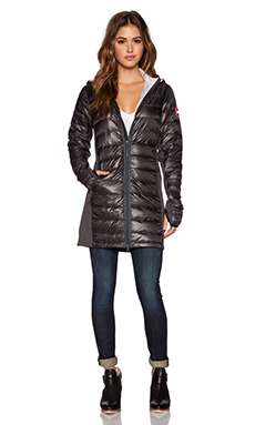 Canada Goose Hybridge Lite Coat in Graphite