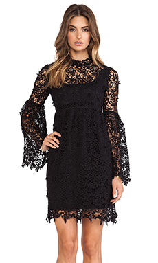 Candela Annabelle Dress in Black