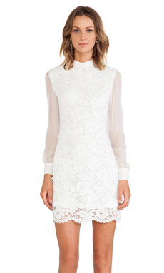 Candela Augustine Dress in White
