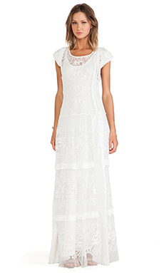 Candela Annika Dress in Ivory