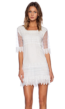 Candela Lilly Dress in White