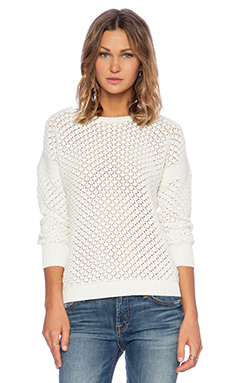 Candela Bonita Sweater in Off White