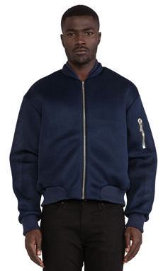 Cast of Vices Neo Bomber in Navy