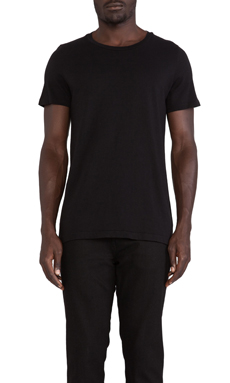 Cast of Vices Basic Tee in Black