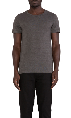 Cast of Vices Double Sleeve Tee in Grey