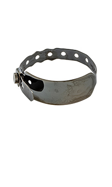 Cast of Vices Hospital Bracelet in Black Rhodium