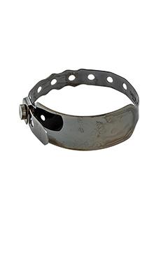 Cast of Vices Hospital Bracelet in Black Rhodium