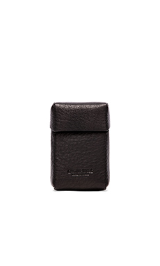 Cast of Vices Hard Pack Cigarette Case en Noir