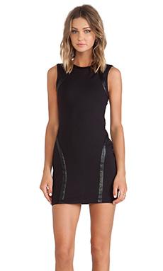 Capulet Bodycon Dress in Black