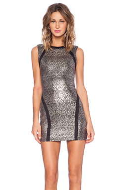 Capulet Bodycon Dress in Stardust Jersey
