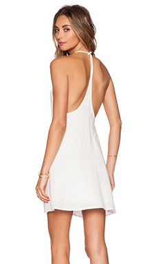 Capulet Y-Back Dress in Cream