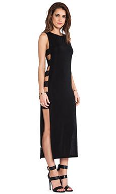 Capulet Maxi Dress in Black