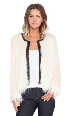 Capulet Faux Fur Jacket in Cream