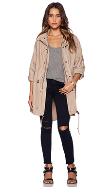 Capulet Oversized Survival Jacket in Khaki