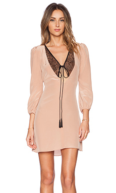 Carmella Rosalie Dress in Blush & Black