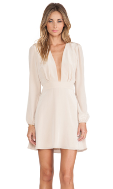 Carmella Michelli Dress in Nude