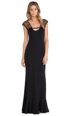 Carmella Cintia Maxi Dress in Black