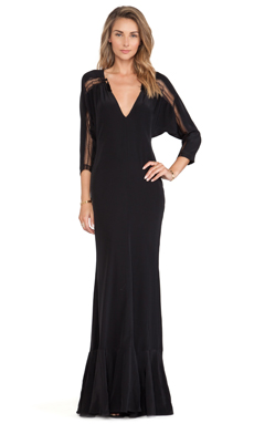 Carmella Cecilia Dress in Black